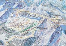 Snowcamp Boudrie Wintersport foto ski routes