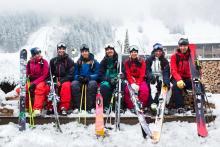 Snowcamp Boudrie Wintersport foto skilift